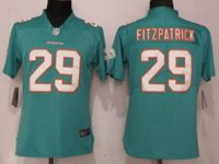 Women Nfl Miami Dolphins #29 Minkah Fitzpatrick Green 2017 Vapor Untouchable Elite Player Jersey