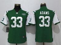 Women New York Jets #33 Jamal Adams Green 2017 Vapor Untouchable Elite Player Jersey