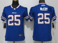 Women Nfl Buffalo Bills #25 Lesean Mccoy Blue 2017 Vapor Untouchable Elite Player Jersey
