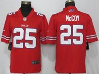 Mens Nfl Buffalo Bills #25 Lesean Mccoy Red Color Rush Limited Player Jersey