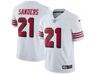 Mens Nfl San Francisco 49ers #21 Deion Sanders White 2018 Color Rush Limited Player Jersey