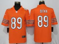 Mens Nfl Chicago Bears #89 Mike Ditka Orange Vapor Untouchable Limited Player Jersey