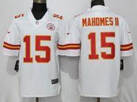 Mens Nfl Kansas City Chiefs #15 Patrick Mahomes Ii White Vapor Untouchable Limited Player Jersey