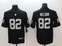 Mens Nfl Oakland Raiders #82 Jordy Nelson Black Vapor Untouchable Limited Player Jersey