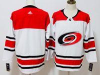 Mens Nhl Carolina Hurricanes Blank White Away Adidas Jersey