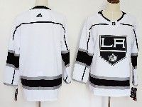 Mens Womens Youth Adidas Los Angeles Kings Blank White  Jersey