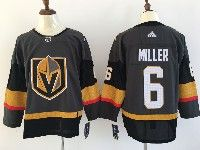 Mens Women Youth Nhl Vegas Golden Knights #6 Colin Miller Gray Authentic Player Adidas Jersey