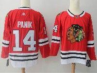 Mens Nhl Chicago Blackhawks #14 Chris Kunitz Red Adidas Jersey