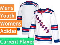 Mens Women Youth Adidas New York Rangers Whitt Away Current Player Jersey