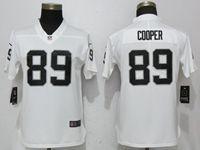 Women Nfl Oakland Raiders #89 Amari Cooper White Vapor Untouchable Elite Player Jersey