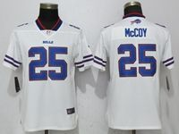 Women Nfl Buffalo Bills #25 Lesean Mccoy White 2017 Vapor Untouchable Elite Player Jersey