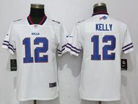Women Nfl Buffalo Bills #12 Jim Kelly White 2017 Vapor Untouchable Elite Player Jersey