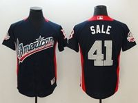 Mens Boston Red Sox #41 Chris Sale 2018 Mlb All Star Game American League Navy Cool Base Jersey
