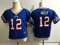 Kids Nfl Buffalo Bills #12 Jim Kelly Game Blue Jersey