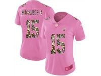 Women Kansas City Chiefs #15 Patrick Mahomes Ii Pink Camouflage Font Love Vapor Untouchable Elite Player Jersey
