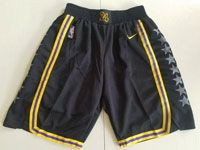 Mens Nba Los Angeles Lakers Black Nike City Nike Shorts