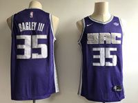 Mens Nba Sacramento Kings #35 Bagley Ii Nike Purple Icon Edition Jersey