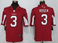 Mens Nfl Arizona Cardinals #3 Josh Rosen Red Vapor Untouchable Limited Player Jersey