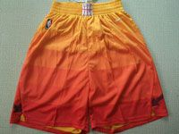 Mens Nba Utah Jazz City Edition Nike Red Orange Shorts