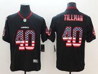 Mens Arizona Cardinals #40 Pat Tillman 2018 Usa Flag Fashion Black Vapor Untouchable Limited Jersey