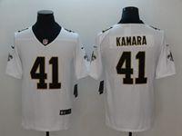 Mens Nfl New Orleans Saints #41 Alvin Kamara White Vapor Untouchable Limited Jersey