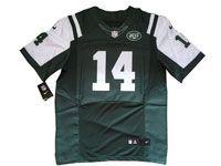 Mens Nfl New York Jets #14 Sam Darnold Green Elite Nike Jersey