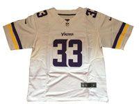 Mens Nfl Minnesota Vikings #33 Dalvin Cook White Elite Jersey