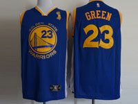 Mens Nba Golden State Warriors #23 Draymond Green Finals Champions Blue Jersey