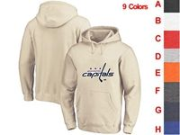Mens Nhl Washington Capitals 9 Colors One Front Pocket Hoodie Jersey