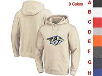 Mens Nhl Nashville Predators 9 Colors One Front Pocket Hoodie Jersey
