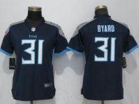 Women Tennessee Titans #31 Kevin Byard Navy Blue Vapor Untouchable Elite Player Jersey