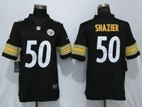 Mens Nfl Pittsburgh Steelers #50 Ryan Shazier Black Vapor Untouchable Limited Jersey