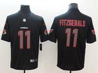 Mens Nfl Arizona Cardinals #11 Larry Fitzgerald Black 2018 Impact Color Rush Limited Jersey