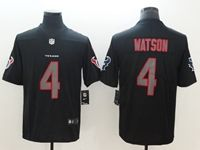 Mens Nfl Houston Texans #4 Deshaun Watson Black 2018 Impact Color Rush Limited Jersey