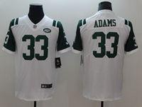 Mens New York Jets #33 Jamal Adams White Vapor Untouchable Limited Player Jersey