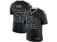Mens Nfl Oakland Raiders #52 Khalil Mack 2018 Black Color Rush Limited Jersey